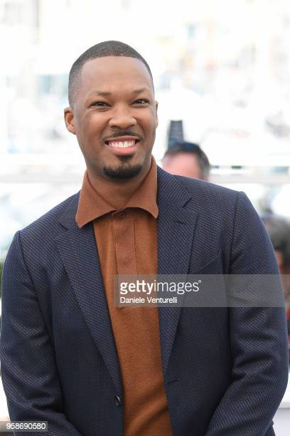 Actor Corey Hawkins attends the photocall for the BlacKkKlansman during the 71st annual Cannes Film Festival at Palais des Festivals on May 15 2018...
