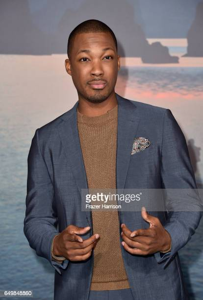 Actor Corey Hawkins attends the premiere of Warner Bros Pictures' Kong Skull Island at Dolby Theatre on March 8 2017 in Hollywood California