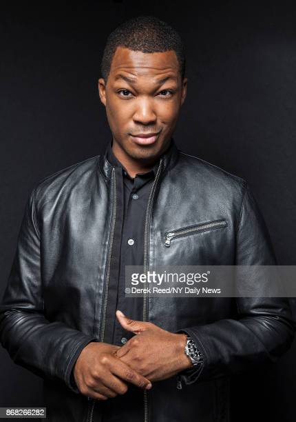 Actor Corey Hawkins photographed for NY Daily News on October 8 in New York City