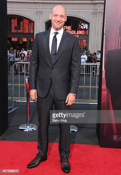 Actor Corey Stoll arrives at the Los Angeles Premiere 'This Is Where I Leave You' at TCL Chinese Theatre on September 15 2014 in Hollywood California