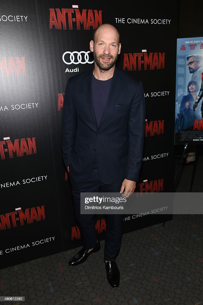 Actor Corey Stoll attends Marvel's screening of 'Ant-Man' hosted by The Cinema Society and Audi at SVA Theater on July 13, 2015 in New York City.