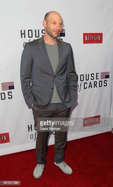 Actor Corey Stoll attends Netflix's House Of Cards For Your Consideration QA Event at Leonard H Goldenson Theatre on April 25 2013 in North Hollywood...