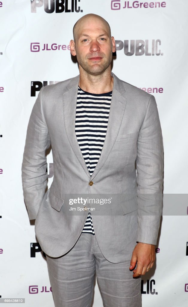 Actor Corey Stoll attends the 'Julius Caesar' opening night at Delacorte Theater on June 12, 2017 in New York City.