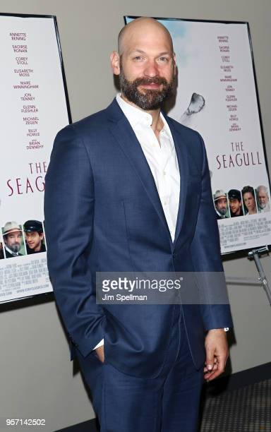 Actor Corey Stoll attends the New York screening of The Seagull at Elinor Bunin Munroe Film Center on May 10 2018 in New York City