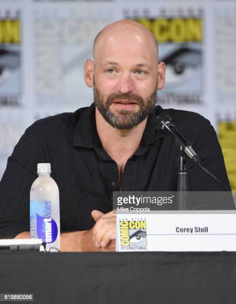 Actor Corey Stoll speaks onstage at 'The Strain' screening and QA during ComicCon International 2017 at San Diego Convention Center on July 20 2017...