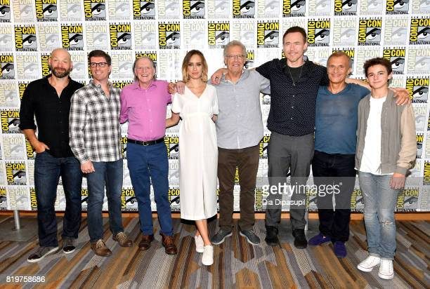 Actor Corey Stoll writer/producer Chuck Hogan actors David Bradley Ruta Gedmintas writer/producer Carlton Cuse actors Kevin Durand Richard Sammel and...