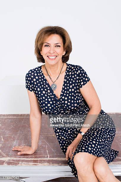 Actor Corinne Touzet is photographed for Paris Match on June 25, 2013 in Paris, France.