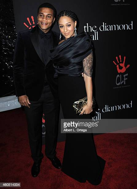 Actor Cory Hardrict and actress Tia MowryHardrict at Rihanna's 1st Annual Diamond Ball Benefitting The Clara Lionel Foundation held at The Vineyard...