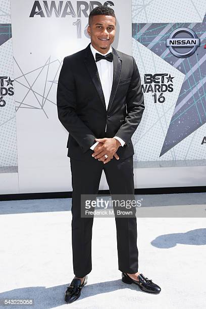Actor Cory Hardrict attends the 2016 BET Awards at the Microsoft Theater on June 26 2016 in Los Angeles California
