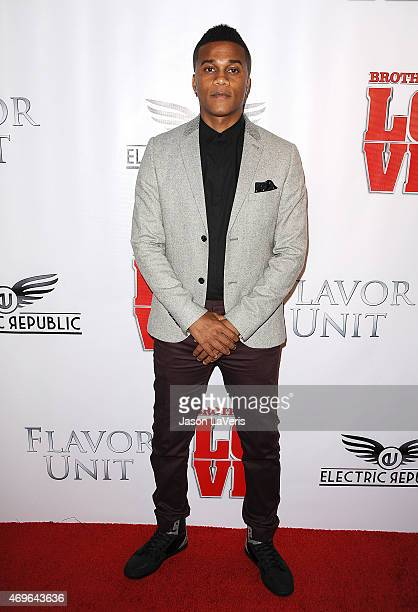 Actor Cory Hardrict attends the premiere of 'Brotherly Love' at SilverScreen Theater at the Pacific Design Center on April 13 2015 in West Hollywood...