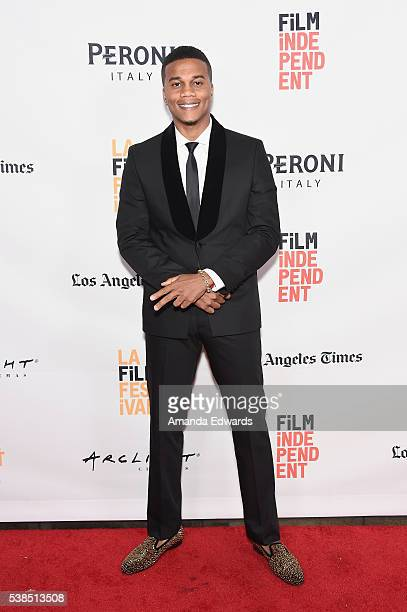 Actor Cory Hardrict attends the premiere of 'Destined' during the 2016 Los Angeles Film Festival at Arclight Cinemas Culver City on June 6 2016 in...