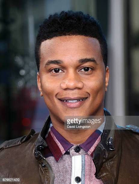 Actor Cory Hardrict visits Hollywood Today Live at W Hollywood on December 13 2016 in Hollywood California