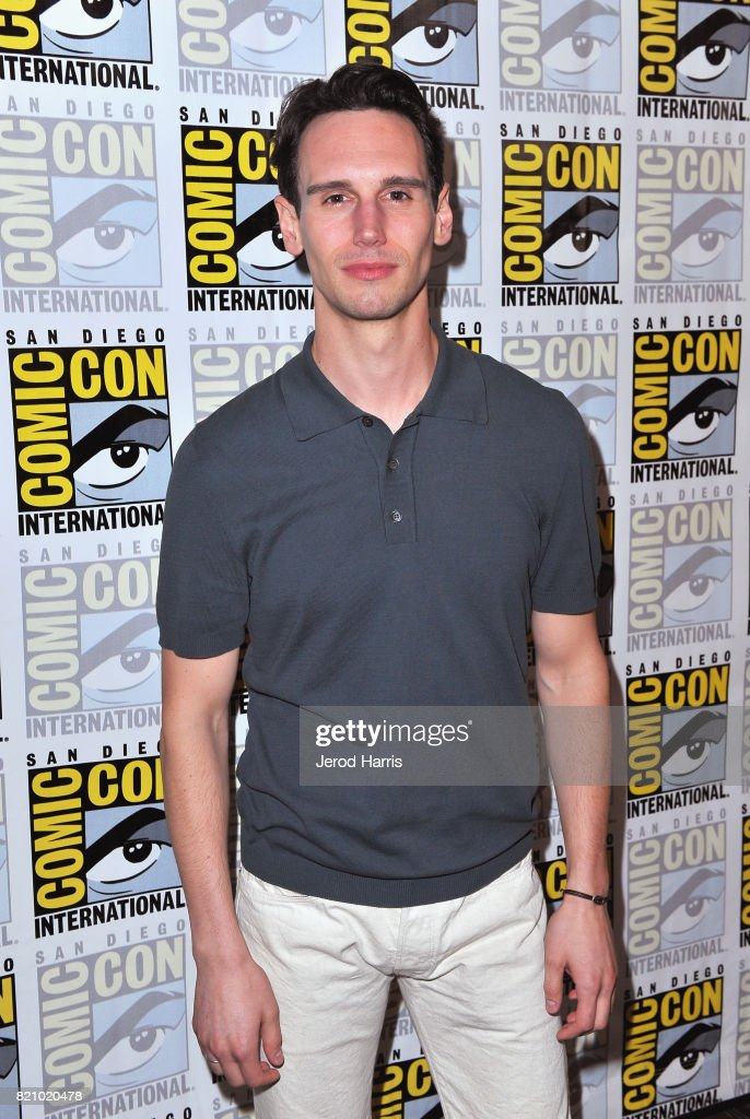 Actor Cory Michael Smith at the 'Gotham' Press Line during Comic-Con International 2017 at Hilton Bayfront on July 22, 2017 in San Diego, California.