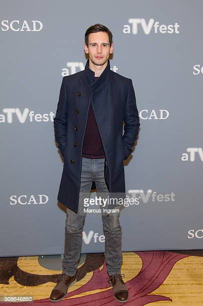 Actor Cory Michael Smith attends 'Gotham' event during SCAD aTVfest 2016 Day 2 at the Four Seasons Atlanta Hotel on February 5, 2016 in Atlanta,...
