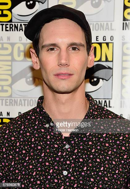 """Actor Cory Michael Smith attends """"Gotham"""" Press Line during Comic-Con International 2016 at Hilton Bayfront on July 23, 2016 in San Diego, California."""
