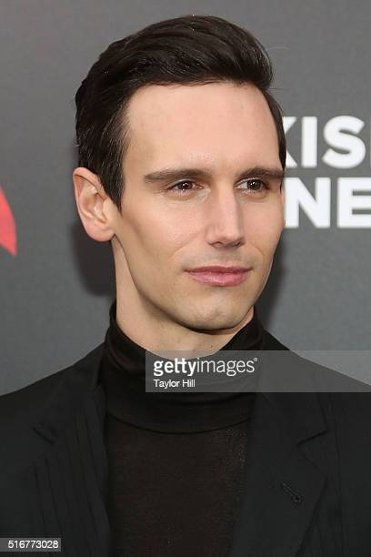 """Actor Cory Michael Smith attends the """"Batman v. Superman: Dawn of Justice"""" premiere at Radio City Music Hall on March 20, 2016 in New York City."""