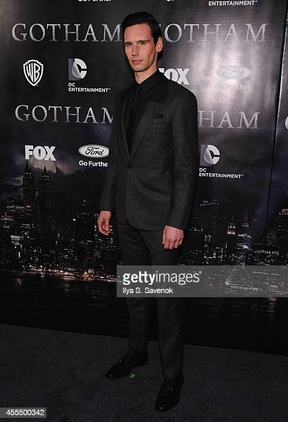 Actor Cory Michael Smith attends the 'Gotham' series premiere at The New York Public Library on September 15 2014 in New York City