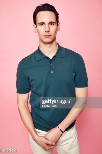 Actor Cory Michael Smith from FOX's 'Gotham' poses for a portrait during ComicCon 2017 at Hard Rock Hotel San Diego on July 22 2017 in San Diego...