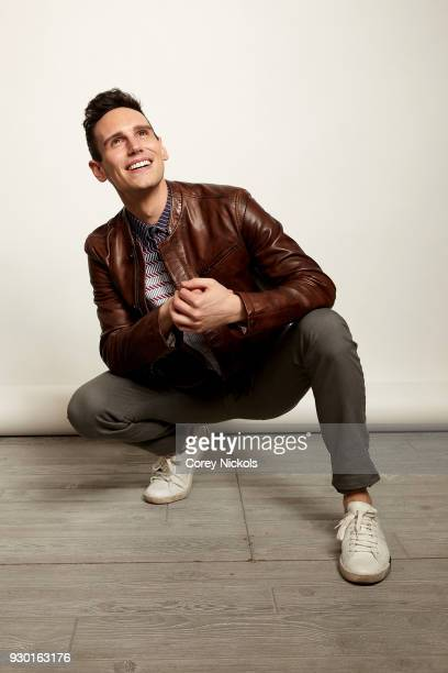 """Actor Cory Michael Smith from the film """"1985"""" poses for a portrait in the Getty Images Portrait Studio Powered by Pizza Hut at the 2018 SXSW Film..."""