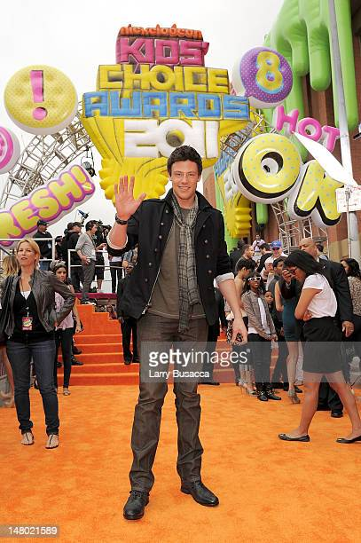 Actor Cory Monteith arrives at Nickelodeon's 24th Annual Kids' Choice Awards at Galen Center on April 2 2011 in Los Angeles California
