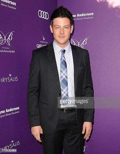 Actor Cory Monteith attends the 11th annual Chrysalis Butterfly Ball on June 9 2012 in Brentwood California