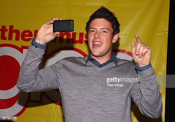 Actor Cory Monteith attends the cast of Glee signing copies of Glee The Music Vol 1 at Best Buy on November 4 2009 in Paramus New Jersey