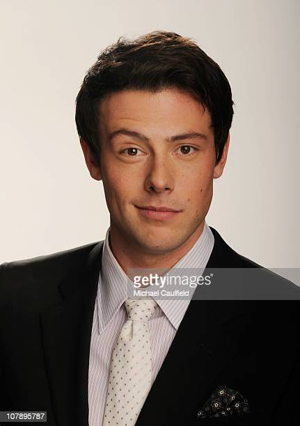 Actor Cory Monteith winner of the Favorite TV Comedy award for Glee poses for a portrait during the 2011 People's Choice Awards at Nokia Theatre LA...