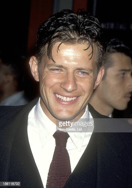 Actor Costas Mandylor attend the 'Mortal Kombat' Hollywood Premiere on August 16, 1995 at Mann's Chinese Theatre in Hollywood, California.