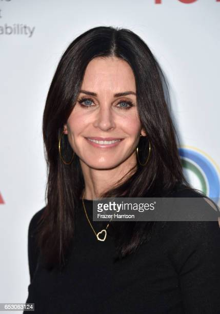 Actor Courteney Cox at UCLA Institute of the Environment and Sustainability celebrates Innovators For A Healthy Planet at a private residence on...