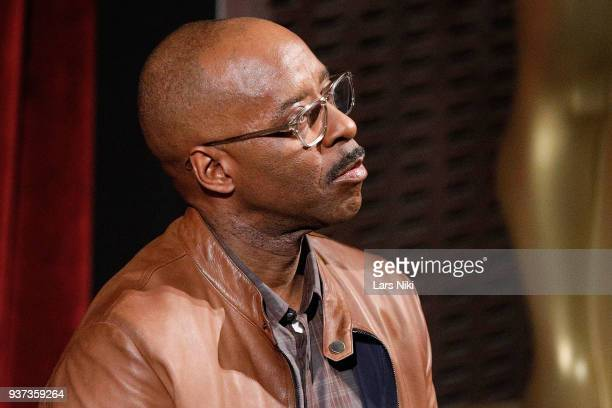 Actor Courtney B Vance on stage during The Academy of Motion Picture Arts Sciences Official Academy Screening of Isle of Dogs at the MOMA Celeste...