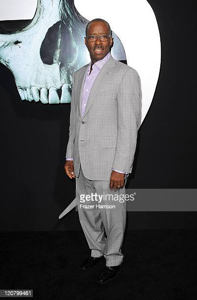 Actor Courtney BVance arrives at the Screening of New Line Cinema's Final Destination 5 at the Grauman's Chinese Theatre on August 10 2011 in Los...