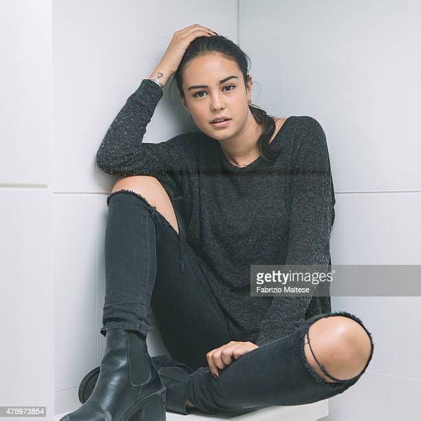 Actor Courtney Eaton is photographed on May 15 2015 in Cannes France