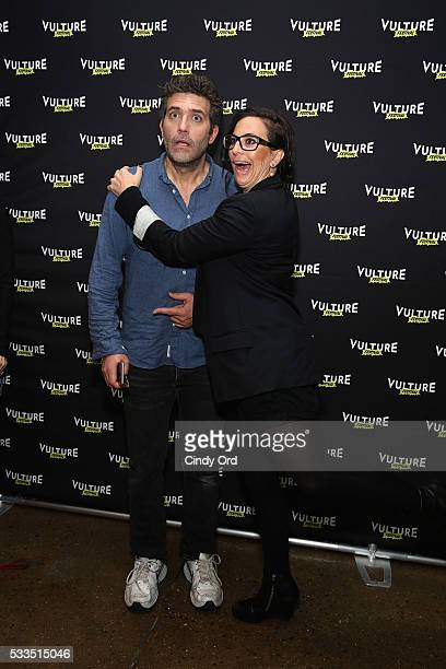 Actor Craig Bierko and cocreator of UnReal Sarah Gertrude Shapiro attend the 2016 Vulture Festival at Milk Studios on May 22 2016 in New York City