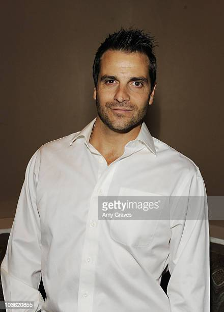 """Actor Craig DiFrancia attends the CWTV.com viewing party of """"The Ghostfacers"""" at La Vida on April 14, 2010 in Los Angeles, California."""