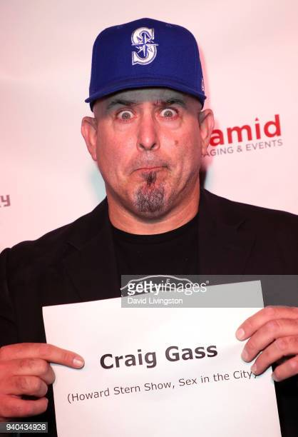 Actor Craig Gass attends the 6th Annual Rock Against MS benefit concert and award show at the Los Angeles Theatre on March 31 2018 in Los Angeles...