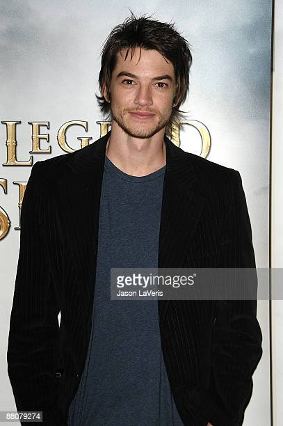 Actor Craig Horner attends the DATG summer press junket at ABC's Riverside Building on May 30 2009 in Burbank California