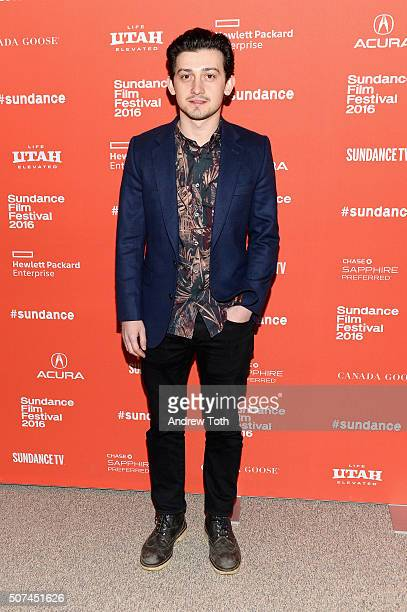 Actor Craig Roberts attends 'The Fundamentals Of Caring' Premiere during the 2016 Sundance Film Festival at Eccles Center Theatre on January 29 2016...