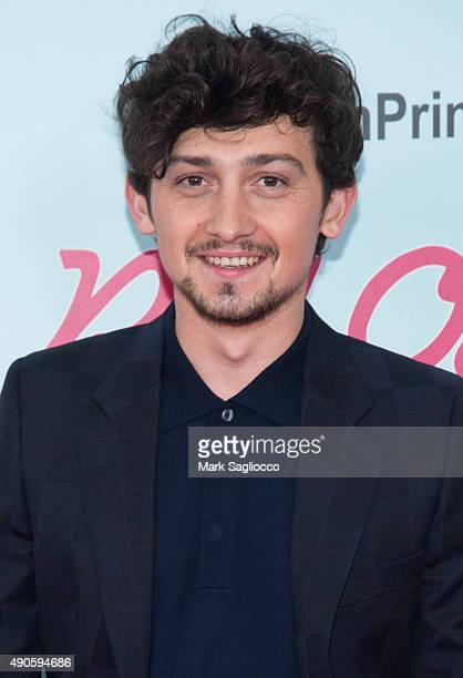 Actor Craig Roberts attends the 'Red Oaks' Series Premiere at the Ziegfeld Theater on September 29 2015 in New York City