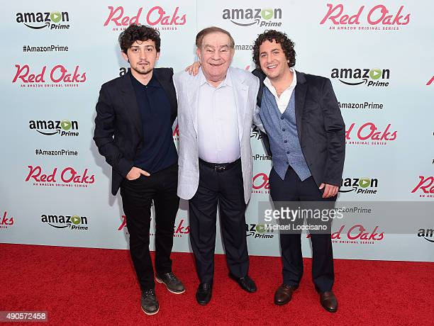 Actor Craig Roberts comedian Freddie Roman and actor Oliver Cooper attend the Amazon red carpet premiere for the brand new original comedy series...