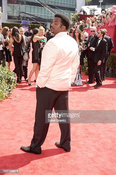 Actor Craig Robinson arrives at the 62nd Annual Primetime Emmy Awards held at the Nokia Theatre LA Live on August 29 2010 in Los Angeles California