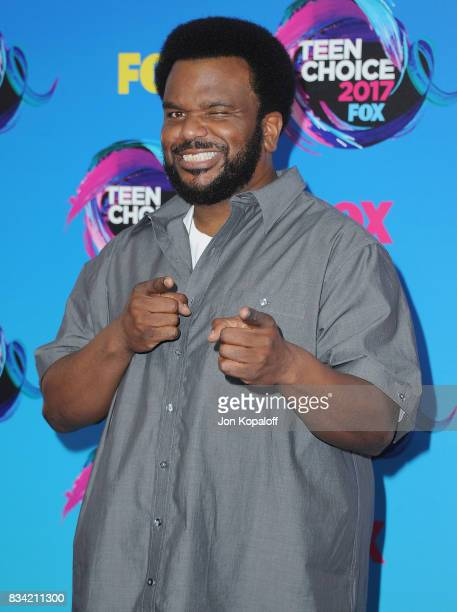 Actor Craig Robinson arrives at the Teen Choice Awards 2017 at Galen Center on August 13 2017 in Los Angeles California