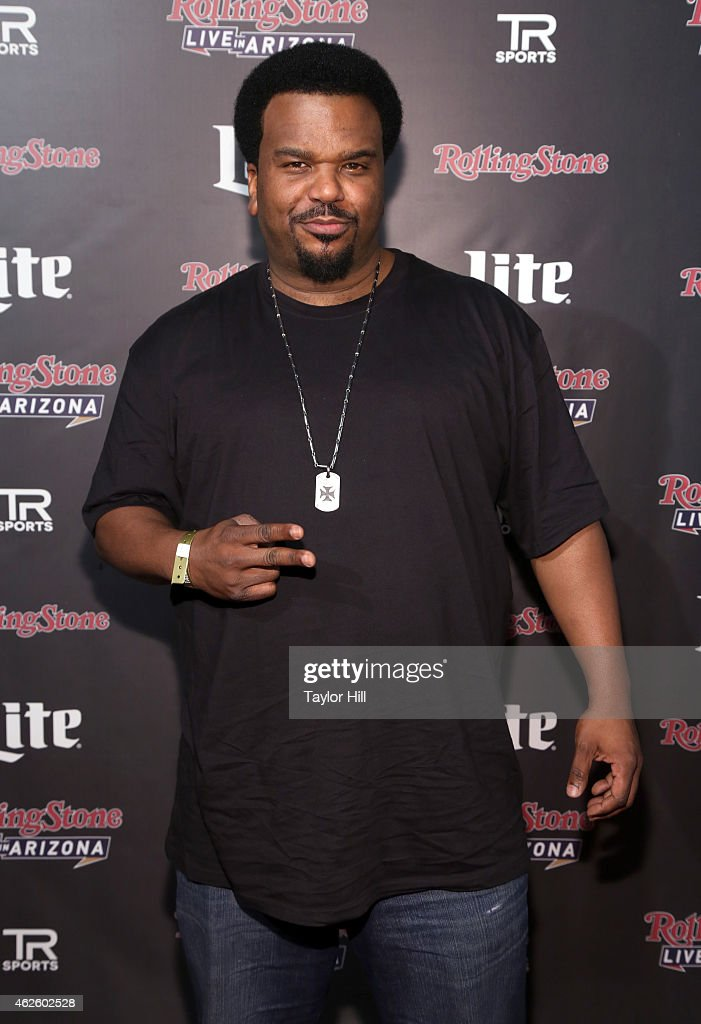 Actor Craig Robinson attends Rolling Stone LIVE Presented By Miller Lite at The Venue of Scottsdale on January 31, 2015 in Scottsdale, Arizona.
