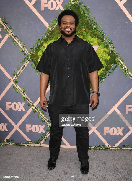 Actor Craig Robinson attends the FOX Fall Party at Catch LA on September 25 2017 in West Hollywood California