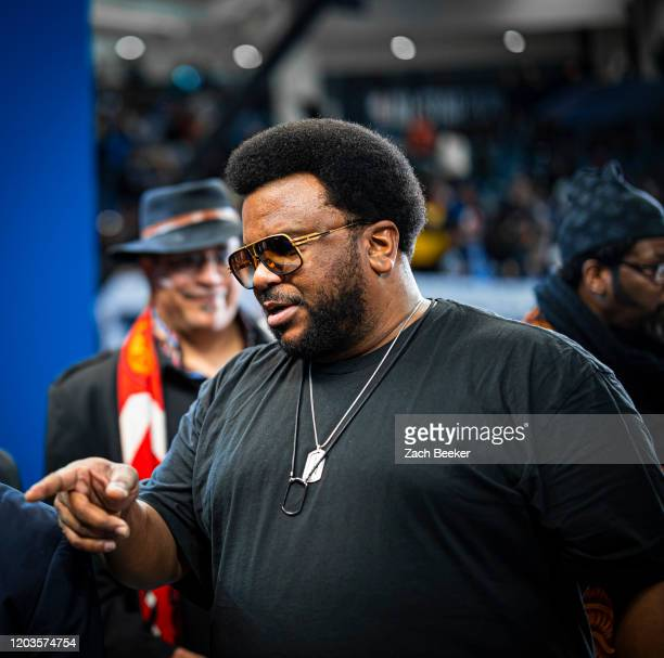 Actor Craig Robinson attends the Practice and Media Availability presented by ATT as part of 2020 NBA AllStar Weekend on February 15 2020 at Wintrust...
