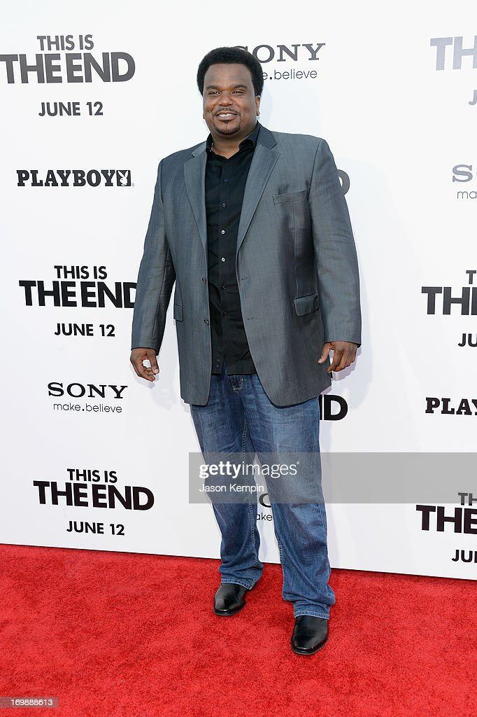Actor Craig Robinson attends the Premiere of Columbia Pictures' 'This Is The End' at Regency Village Theatre on June 3, 2013 in Westwood, California.