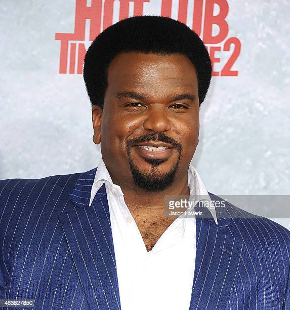 Actor Craig Robinson attends the premiere of 'Hot Tub Time Machine 2' at Regency Village Theatre on February 18 2015 in Westwood California