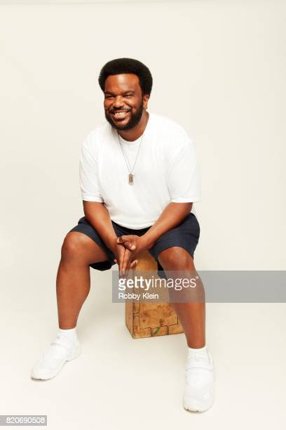 Actor Craig Robinson of Fox's 'Ghosted' poses for a portrait during ComicCon 2017 at Hard Rock Hotel San Diego on July 20 2017 in San Diego California