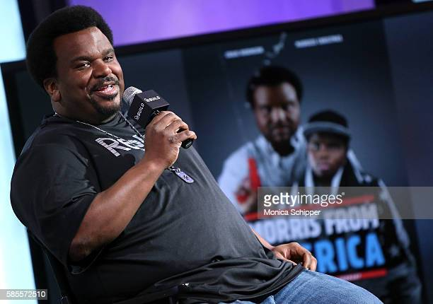 Actor Craig Robinson speaks at AOL Build Speaker Series Craig Robinson 'Morris from America' at AOL HQ on August 3 2016 in New York City