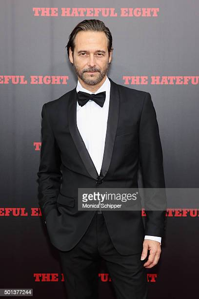 Actor Craig Stark attends the The New York Premiere Of 'The Hateful Eight' on December 14 2015 in New York City