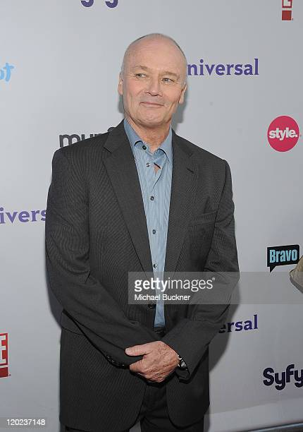 Actor Creed Bratton arrives at the NBC Universal TCA 2011 Press Tour AllStar Party at the SLS Hotel on August 1 2011 in Los Angeles California